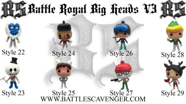 Battle Royal Big Heads V3