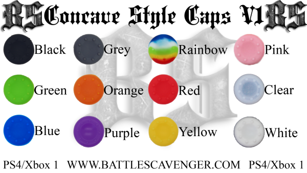 Concave Style Caps V1