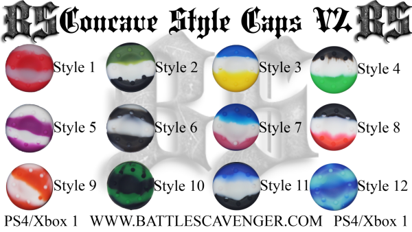 Concave Style Caps V2