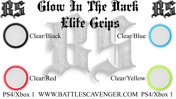 Glow In The Dark Elite Grips