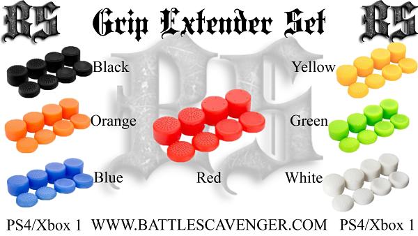 Grip Extender Set