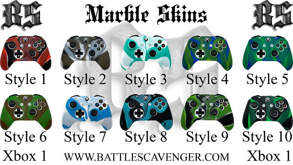 Xbox One Marble Skins