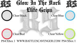 Glow In The Dark Elite Grips