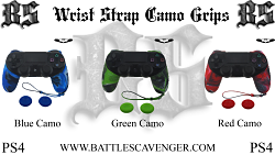 PS4 Wrist Strap Camo Grips